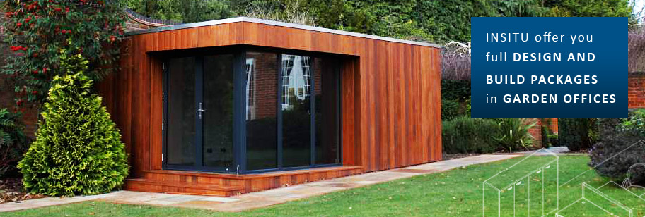garden offices u0026 room buildings insitu cheshire home office in the