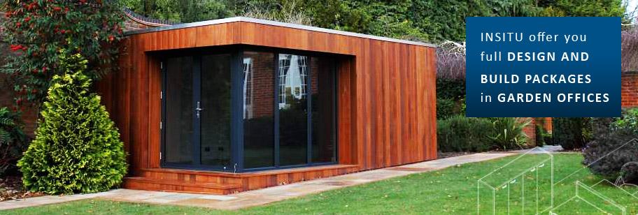 Garden Offices Garden Room Buildings Insitu Garden