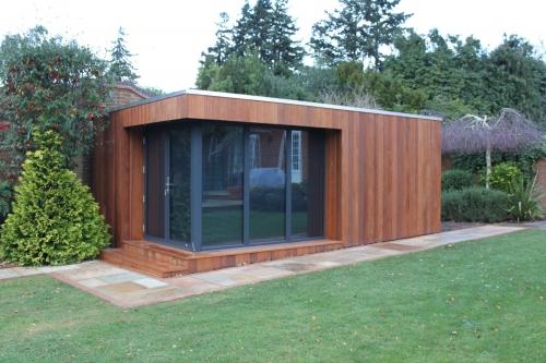 Insitu Garden OfficesGALLERYCorner Glazed Offices